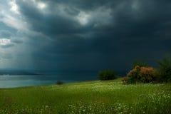 Há claro após a tempestade imagem de stock