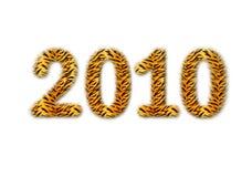 Há figura 2010 Imagem de Stock Royalty Free