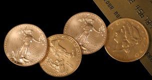 Há ouro então lá está OURO Imagens de Stock Royalty Free