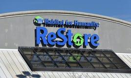 Hábitat para la restauración de la humanidad fotografía de archivo