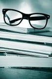 Hábito o el estudiar de lectura imagen de archivo
