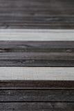 Hágalo usted mismo piso de madera natural Fotos de archivo libres de regalías