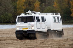 Hägglunds Bandvagn 206 - amfibia Obrazy Royalty Free