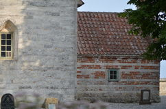 Højerup παλαιό Εκκλησία Στοκ εικόνα με δικαίωμα ελεύθερης χρήσης