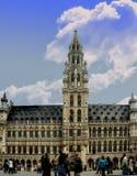 HÃ'tel De Ville de Bruxelles stockbild