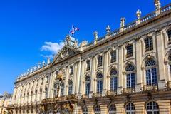 The Hôtel de Ville Nancy Stock Photo