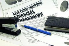 häftapparat för handväska för penna för aboartikeltidning Royaltyfri Foto