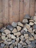 Häftat trä royaltyfri bild