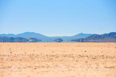 Hägring i Deathet Valley Royaltyfri Bild