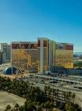 Hägringhotell Las Vegas Arkivbild