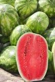 Hälfe der Wassermelone Lizenzfreies Stockfoto