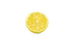 Hälfte der frischen Zitrone Lizenzfreie Stockbilder