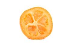 Hälfte der japanischer Orange Stockbild