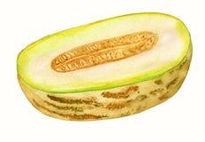 Hälfte der Melone Lizenzfreies Stockfoto