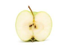 Hälfte des Apfels. Stockbilder