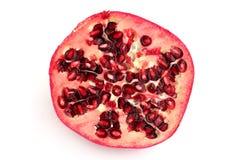 Hälfte des Granatapfels lizenzfreies stockfoto