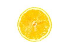 Hälfte eine Zitrone Stockfotos