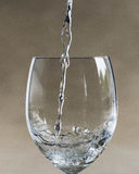 häll vatten Royaltyfri Fotografi