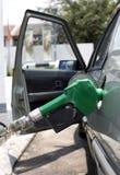hälla för bensin royaltyfri fotografi