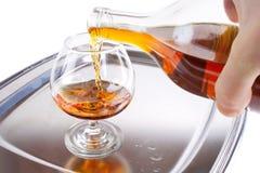 hälla för cognac royaltyfri bild