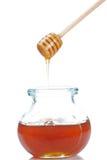 hälla för honung Arkivbild