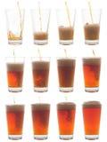 hälla för liter Fotografering för Bildbyråer
