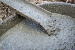 Hällande cement under Fotografering för Bildbyråer