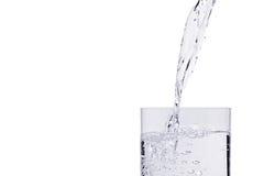 hällande vatten royaltyfria bilder