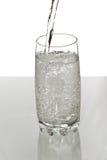 hällande vatten Arkivfoto