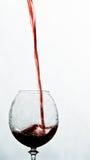 hällande wine Arkivfoto
