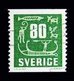 Hällristningar serie, circa 1957 Fotografering för Bildbyråer
