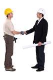 Hälsa för byggnadsarbetare Royaltyfri Bild