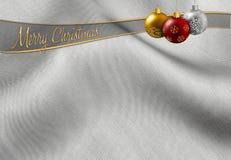 Hälsa för jul Arkivfoto