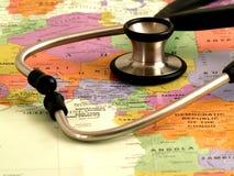 hälsa för omsorg africa2 Royaltyfri Fotografi