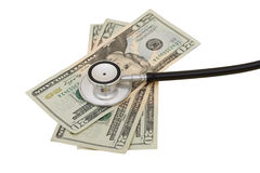 hälsa för omsorgskostnader Fotografering för Bildbyråer