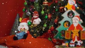 Hälsa säsongbegrepp Den Santa Claus showen 5 dagar brukar Xmas med nolla Royaltyfri Bild