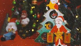 Hälsa säsongbegrepp Den Santa Claus showen 4 dagar brukar Xmas med nolla Royaltyfri Bild