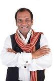 hälsar den indiska mannen Arkivfoton