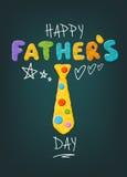 Hälsning för dag för fader` s stock illustrationer