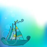 hälsning för kortdesign Royaltyfria Bilder