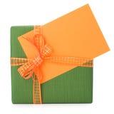 hälsning för korteaster gåva Royaltyfri Fotografi