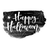 hälsning lyckliga halloween Arkivbild