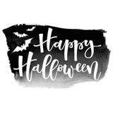 hälsning lyckliga halloween Royaltyfria Bilder