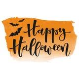 hälsning lyckliga halloween Arkivfoton
