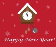 Hälsningar för lyckligt nytt år på tillfället Arkivbilder