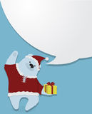 Hälsningar nytt s-år Jul Stock Illustrationer