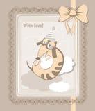 Hälsninghund royaltyfri illustrationer