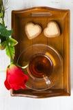 Hälsningkort för dag för St-valentin` s Royaltyfria Bilder