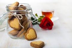 Hälsningkort för dag för St-valentin` s Arkivbilder