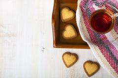 Hälsningkort för dag för St-valentin` s Arkivfoton